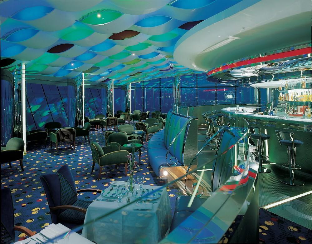 Burj interior restaurant hotel